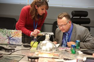 Space Foundation Teacher Liaisons workshop at the Discovery Center