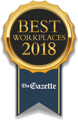 Colorado Springs Gazette Best Workplace 2018